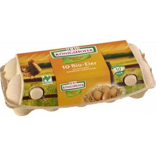 Königsh Bayern Bruderhahn Eier gepackt 10er Packung