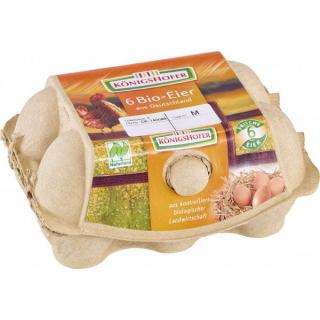 Königsh Eier gepackt 6 St Gkl. M und L