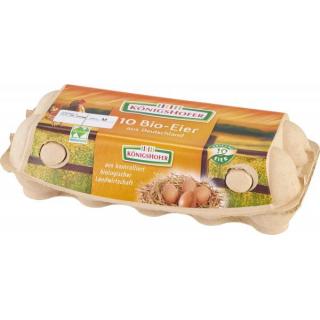 Königsh Bayern Eier gepackt 10 Stück Packung