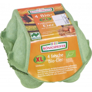 Königsh XL Frühstückseier gepackt 4 St Packung XL/XXL