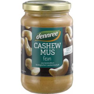 dennree Cashewmus 350g Glas
