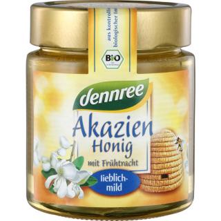 dennree Akazienhonig Ungarn 500g Glas