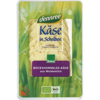 dennree Bockshornklee Käse in Scheiben 150g Packung -laktosefrei-