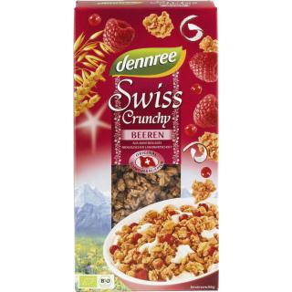 dennree Swiss Crunchy Beeren 375g Packung