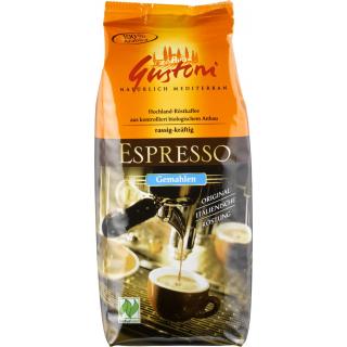 Gustoni Espresso gemahlen 250g Packung