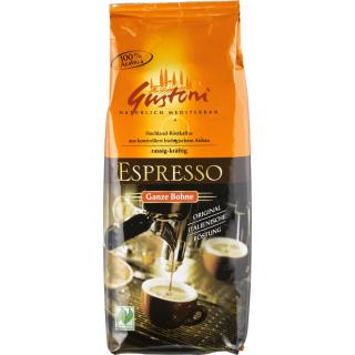 Gustoni Espresso ganze Bohne 250g Packung