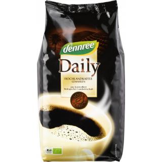 dennree Daily Kaffee Arabica Mischung gemahlen 500g Packung