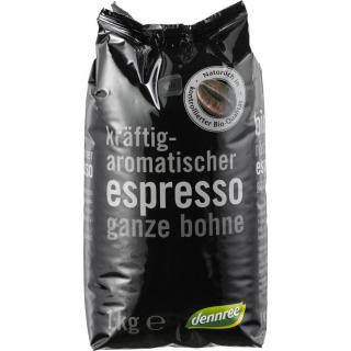 BioMarkt Espresso ganze Bohne 1kg Packung