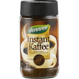 dennree Instant Kaffee 100g Glas