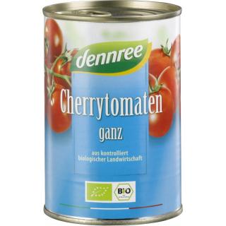 dennree Cherrytomaten ganz ungeschält 400g Dose