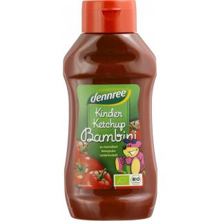 dennree Kinder Ketchup 500ml PE-Flasche -ohne Kristallzucker-