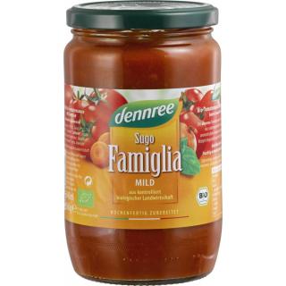 dennree Sugo Famiglia fruchtig-aromatisch 660g Glas