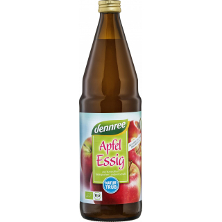dennree Apfelessig naturtrüb 0,75l Flasche