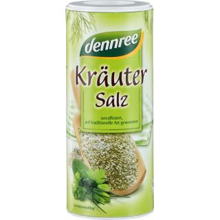dennree Kräutersalz unjodiert 160g Dose
