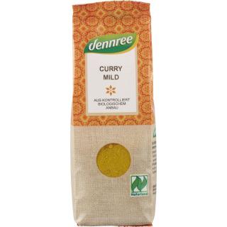 dennree Curry mild 55g Packung