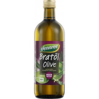 dennree Bratöl Olive 1l Flasche