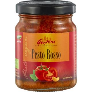 Gustoni Pesto Rosso 125g Glas