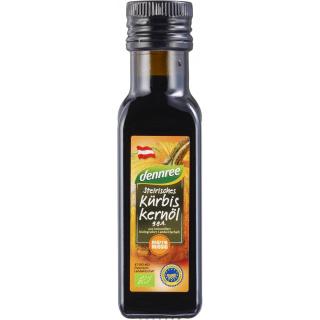 dennree Steirisches Kürbiskernöl g.g.A. 100ml Flasche