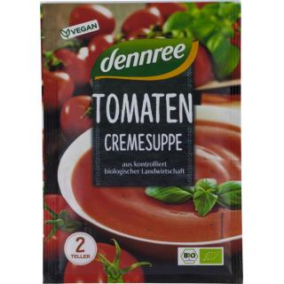 dennree Tomatencremesuppe 40g Packung