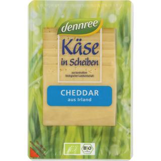 dennree Cheddar aus Irland 150g Packung - laktosefrei -