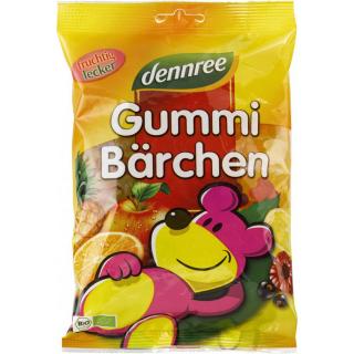 dennree Gummi-Bärchen 400g Packung -mit bio Gelee-