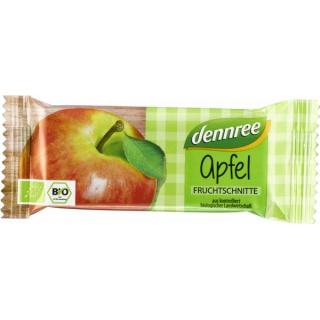 dennree Fruchtschnitte Apfel 40g Stück
