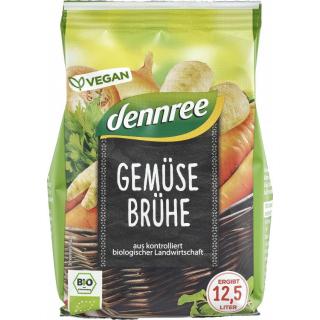 dennree Gemüsebrühe 250g Nachfüller für 12,5l -mit Bio-Hefe-