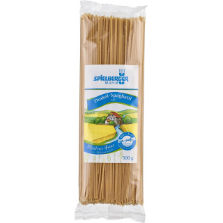 Spielberger Dinkel Spaghetti hell 500g Packung