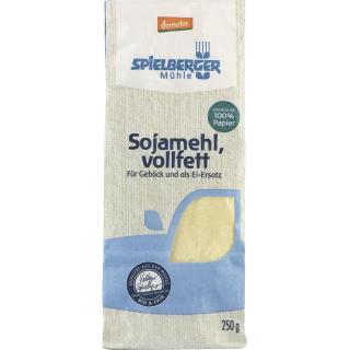 Spielberger Sojamehl 250g Packung -demeter-