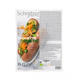 Schnitzer Rustikales Baguette 320g Packung - glutenfrei