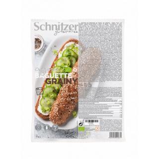 Schnitzer Baguette Grainy 320g Packung - glutenfrei