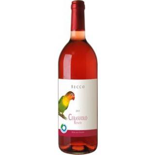 Cerasuolo Becco Rosato 1l Flasche
