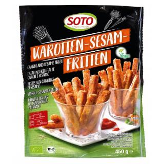 Soto Karotten-Sesam-Fritten 450g Beutel