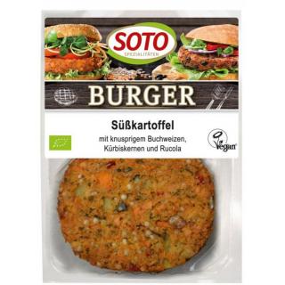 Soto Burger Süßkartoffel 160g Packung