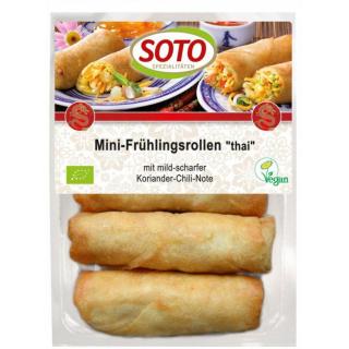 Soto Mini-Frühlingsrolle Thai- vegan 200g Packung 4 Stück a 50g