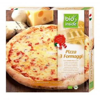 bio inside Pizza 3 Formaggi 350g Schachtel