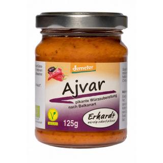 Erhardt Ajvar 125g Glas