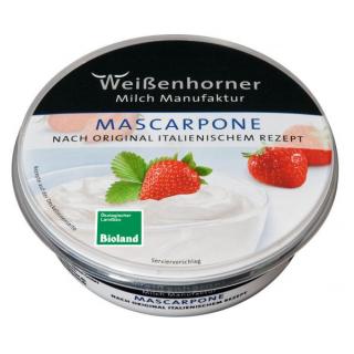 Weißenhorn Mascarpone 80% 250g Becher