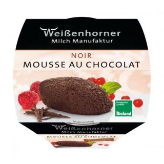 Weißenhorn Mousse au Chocolat noir 80g Becher