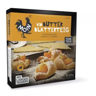 Moin Premium Butter Blätterteig 300g Packung