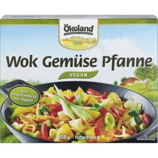 Ökoland WOK Gemüse Pfanne 450g Schachtel