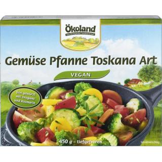 Ökoland Toskana Gemüse Pfanne 450g Schachtel vegetarisch