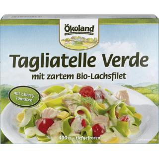 Ökoland Tagliatelle Verde mit Lachs 400g Schachtel
