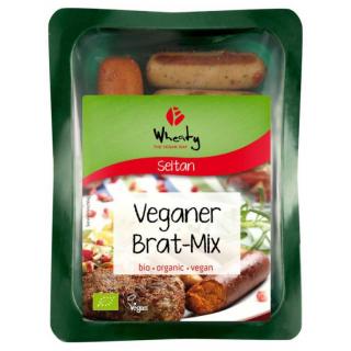 Topas Wheaty Vegan Grillmix 200g Packung