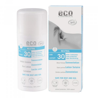eco cosmetics Sonnenlotion LSF30 neutral 100ml Tube