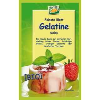 Bio Vita Bio - Blattgelatine 10g Beutel 6 Blatt