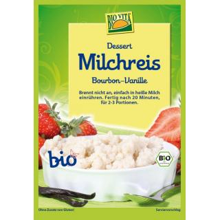 Bio Vita Milchreis Vanille 115g Beutel