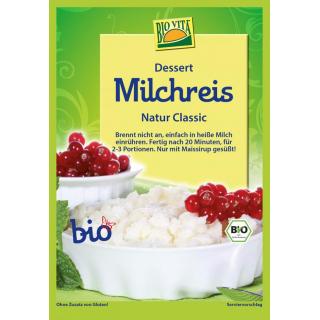 Bio Vita Milchreis Classic ohne Zucker 115g Beutel