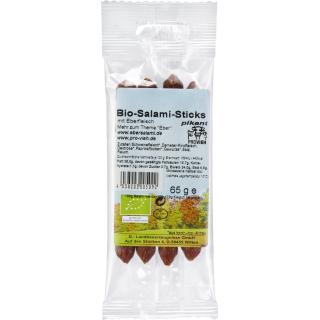 Demeter Salami-Sticks 65g Packungungekühlt haltbar