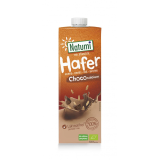 Natumi Hafer-Drink Choco + Calcium 1l Tetra Pack